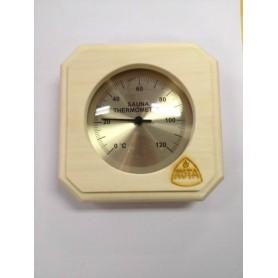 Termo och hygrometer   Kota Bastutermometer fyrkant Asp - 220TA