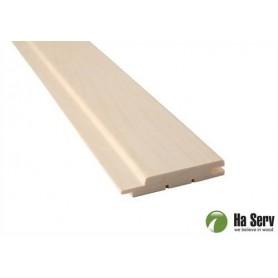 Bastupanel ASP 15x90   Bastupanel i asp. 15x90mm Längd: 2,4 m. 6st/pkt   Längd: 2,4 m. 6st/pkt