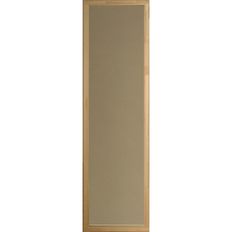Bastufönster storlek 5x19   Bastufönster 5x19 Rökgrått glas, Furukarm